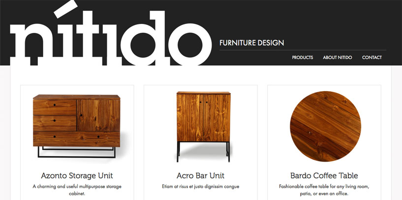 Nitido Furniture screenshot
